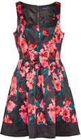 French Connection Allegro Poppy Satin Strappy Dress