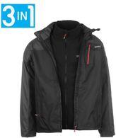 Gelert Mens Horizon 3 in 1 Jacket 3in1 Coat Top Long Sleeve Chin Guard