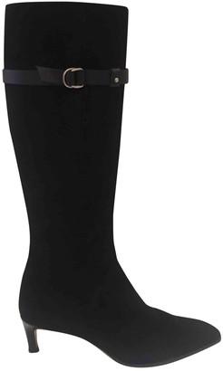 Ralph Lauren \N Black Suede Boots