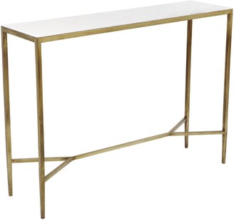 Cafe Lighting Chloe Console Table Gold
