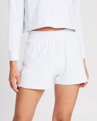 Doyoueven - Women's White Shorts - Staple Boxy Shorts - Size One Size, S at The Iconic