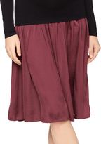 A Pea in the Pod Under Belly A-line Maternity Skirt