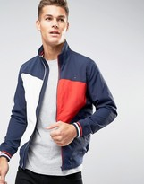 Tommy Hilfiger Icon Colour Bomber Nylon In Navy