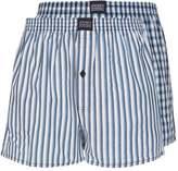 Jockey 2 Pack Boxer Shorts Navy