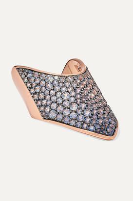Diane Kordas 18-karat Rose Gold Sapphire Ring - 5