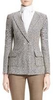 St. John Women's Aluna Tweed Knit Double Breasted Jacket