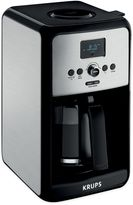 Krups Savoy 12-Cup Stainless Steel Coffee Maker