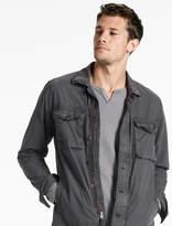 Lucky Brand Garment Dyed Shirt Jacket