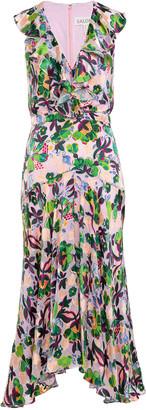 Saloni Rita Sleeveless Midi Dress