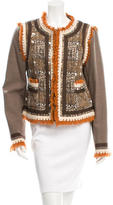 Tory Burch Patterned Jacket w/ Tags