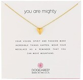 Dogeared You Are Mighty, Pyramid Necklace (Gold) Necklace