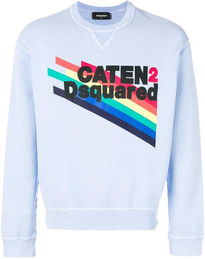 DSQUARED2 Caten print sweatshirt