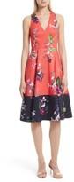 Ted Baker Women's Esselle Stretch Cotton Midi Dress