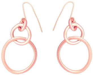 Lily Flo Jewellery 9K Embrace Rose Gold Drop Earrings