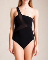 Karla Colletto Powernet One Shoulder Swimsuit