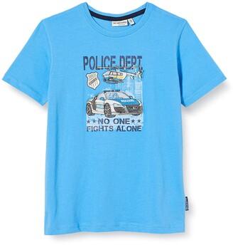 Salt&Pepper Salt & Pepper Boy's Polizeiauto Stickerei Auf Druck T-Shirt