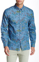 Barney Cools Montana Long Sleeve Printed Shirt