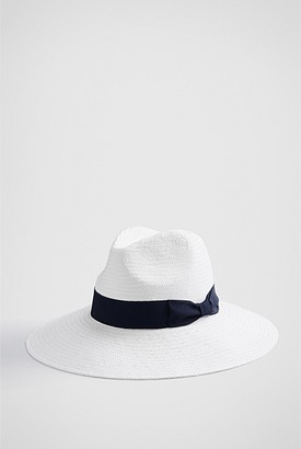Witchery Summer Woven Fedora