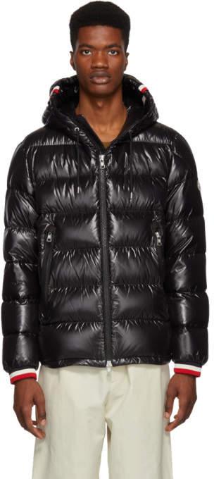 Moncler Black Down Alberic Jacket