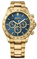 Hugo Boss 1513340 Chronograph Stainless Steel Gold-Plated Watch One Size Assorted-Pre-Pack