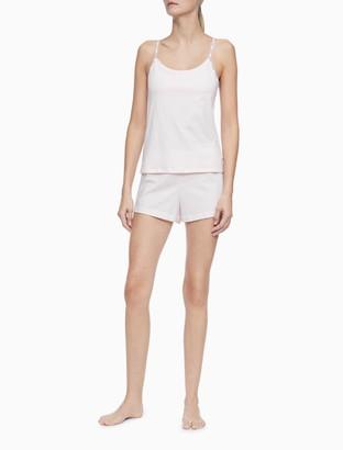 Calvin Klein Logo Cotton Stretch Pajama Set