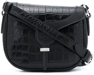 Tod's Crocodile-Effect Shoulder Bag