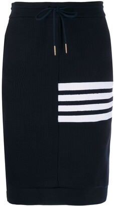 Thom Browne 4-Bar Sack Skirt