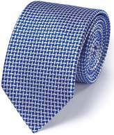 Charles Tyrwhitt Royal Silk Diamond Lattice Classic Tie