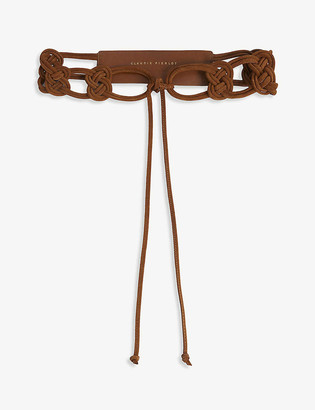 Claudie Pierlot Tie leather belt