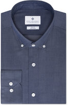 Ryan Seacrest Distinction Slim-Fit Blue Frost Dot Dress Shirt, Only at Macy's