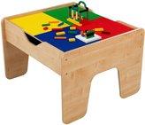 Kid Kraft 2-in-1 Activity Table - Natural (232 pcs)