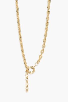boohoo Centre Clasp Chunky Chain