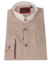 Remus Feather Stripe Grandad Shirt