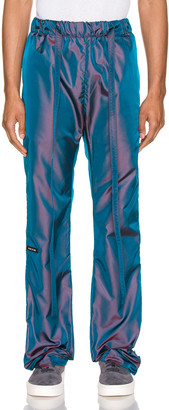 Fear Of God Baggy Nylon Pant in Blue Iridescent | FWRD