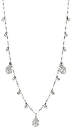 Meira T 14K White Gold & Diamond Multi-Charm Necklace