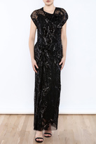 Anna Sui Sequin Maxi Dress