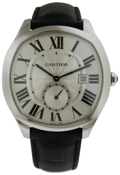 Cartier WSNM0004 Drive Automatic Stainless Steel Leather Watch