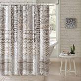 Asstd National Brand Archer Cotton Shower Curtain