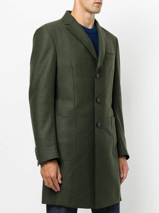 Z Zegna single breasted coat