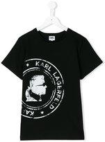 Karl Lagerfeld printed T-shirt