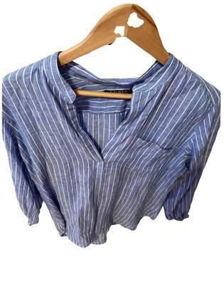 Lauren Ralph Lauren Blue Linen Knitwear for Women