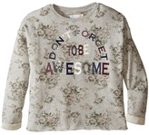 C&C California Kids Printed Fleece Cropped Pullover (Little Kids/Big Kids)