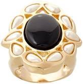 Balangandãs Barroque Black Ring