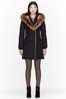 MACKAGE Black Fur & Down Trish F3 coat