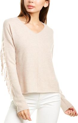 Raffi Fringe Cashmere Sweater