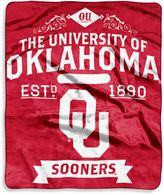 Bed Bath & Beyond University of Oklahoma Raschel Throw