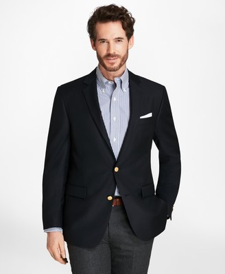 Brooks Brothers Country Club Regent Fit Saxxon Wool Two-Button Blazer