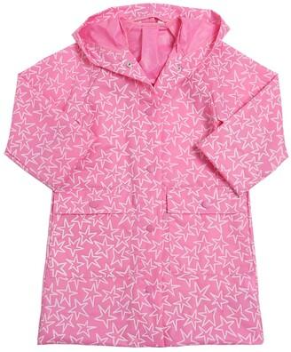 Stella McCartney Kids Star Printed Pvc Rain Coat