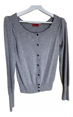 HUGO BOSS Grey Cashmere Knitwear