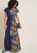 ModCloth Very Influential Passenger Maxi Dress in XXS - Cap A-line